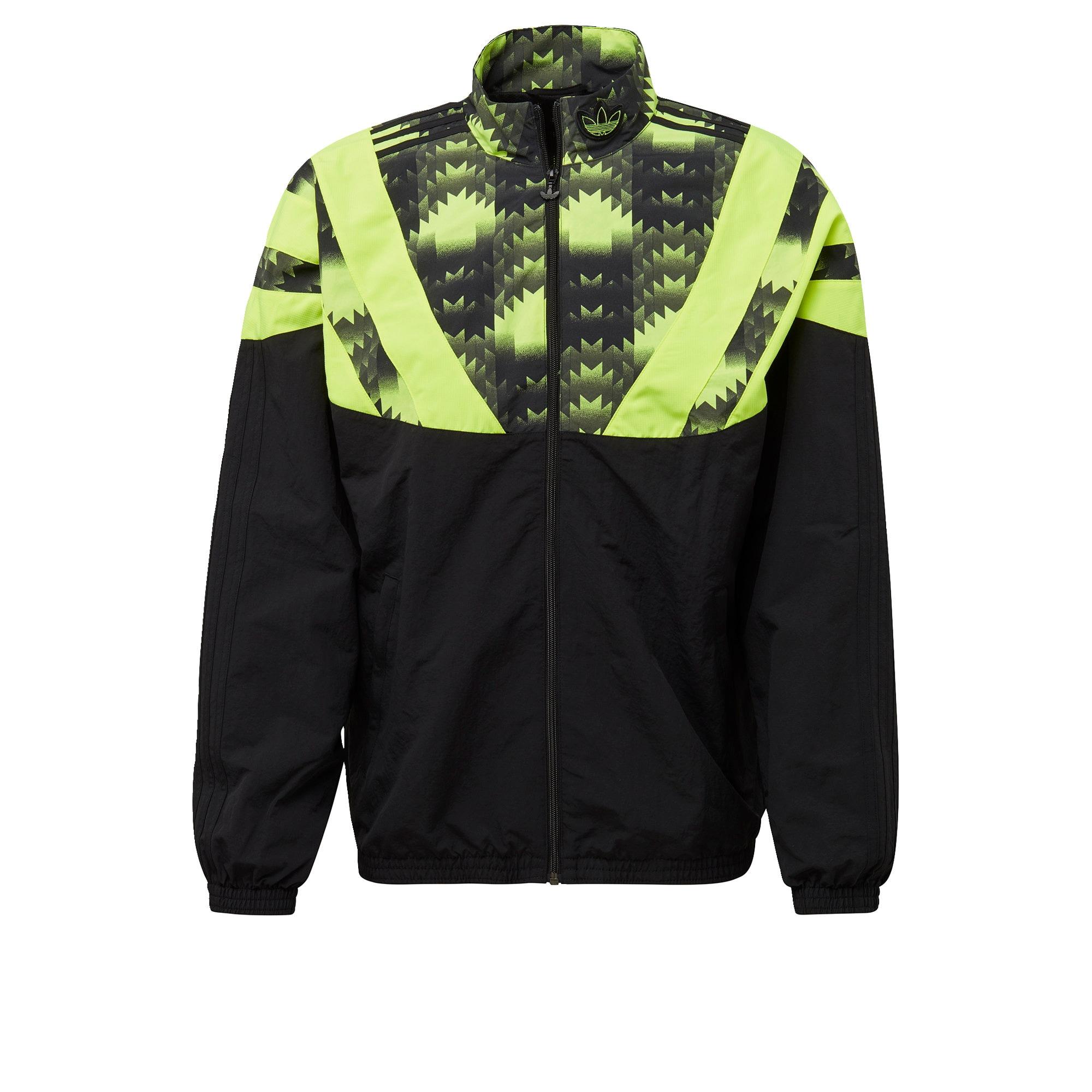 ADIDAS ORIGINALS Džemperis juoda / neoninė žalia