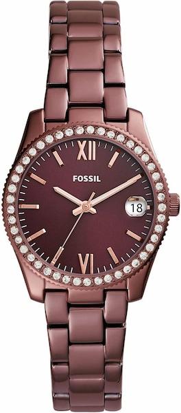 Uhren für Frauen - FOSSIL Quarzuhr 'SCARLETTE, ES4320' pastellrot  - Onlineshop ABOUT YOU