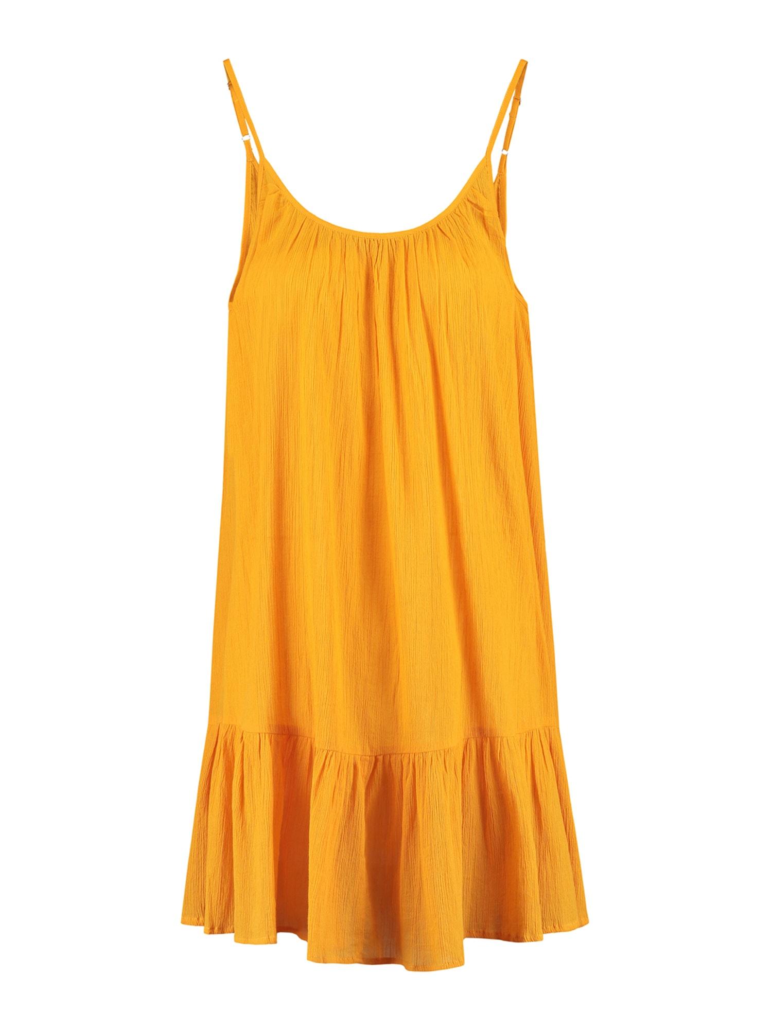 Shiwi Paplūdimio suknelė tamsiai geltona