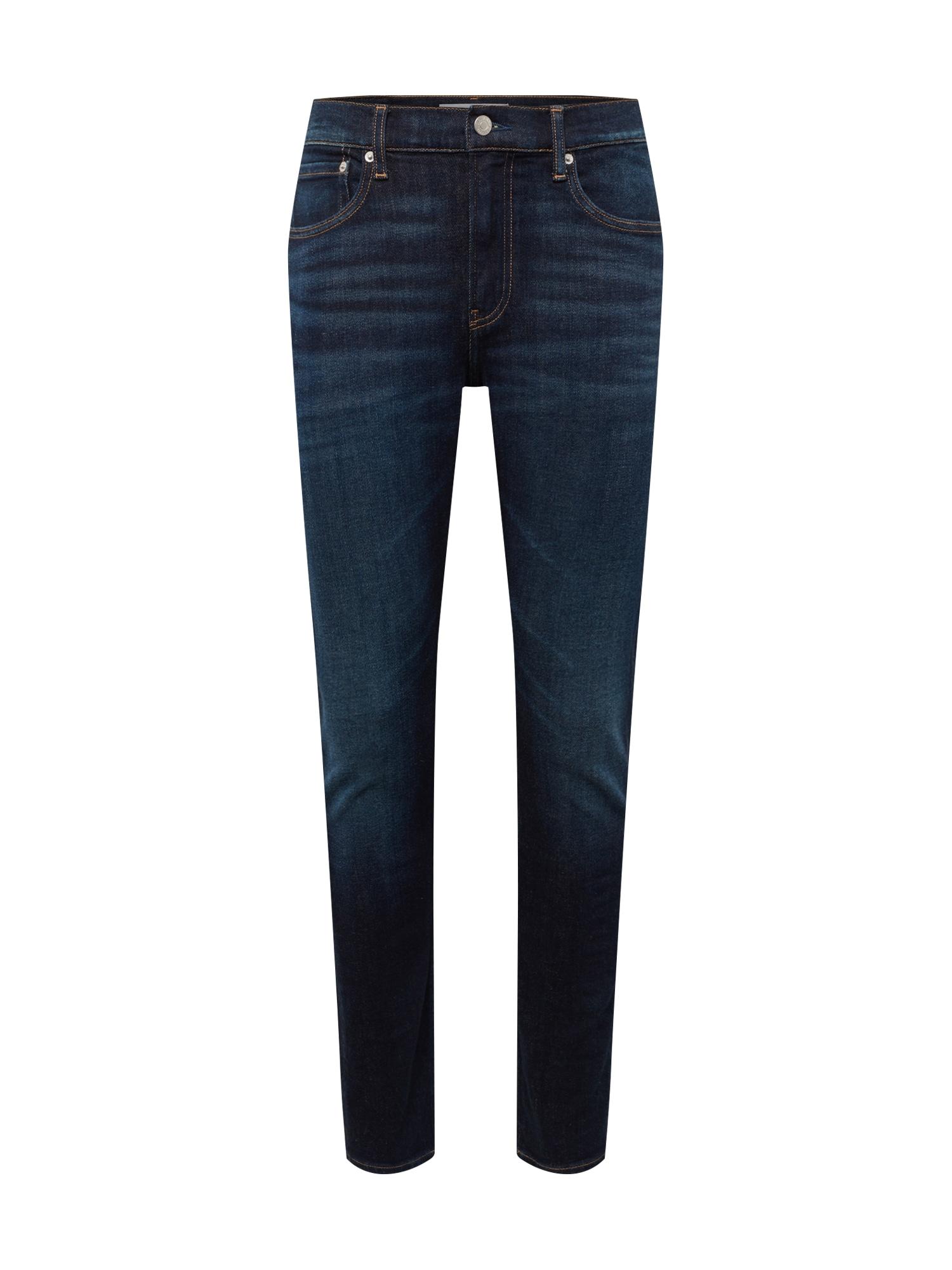 Džíny 058 SLIM TAPER tmavě modrá Calvin Klein Jeans