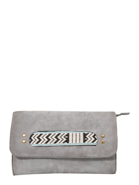 Clutches für Frauen - ABOUT YOU Clutch 'Pepe' grau  - Onlineshop ABOUT YOU