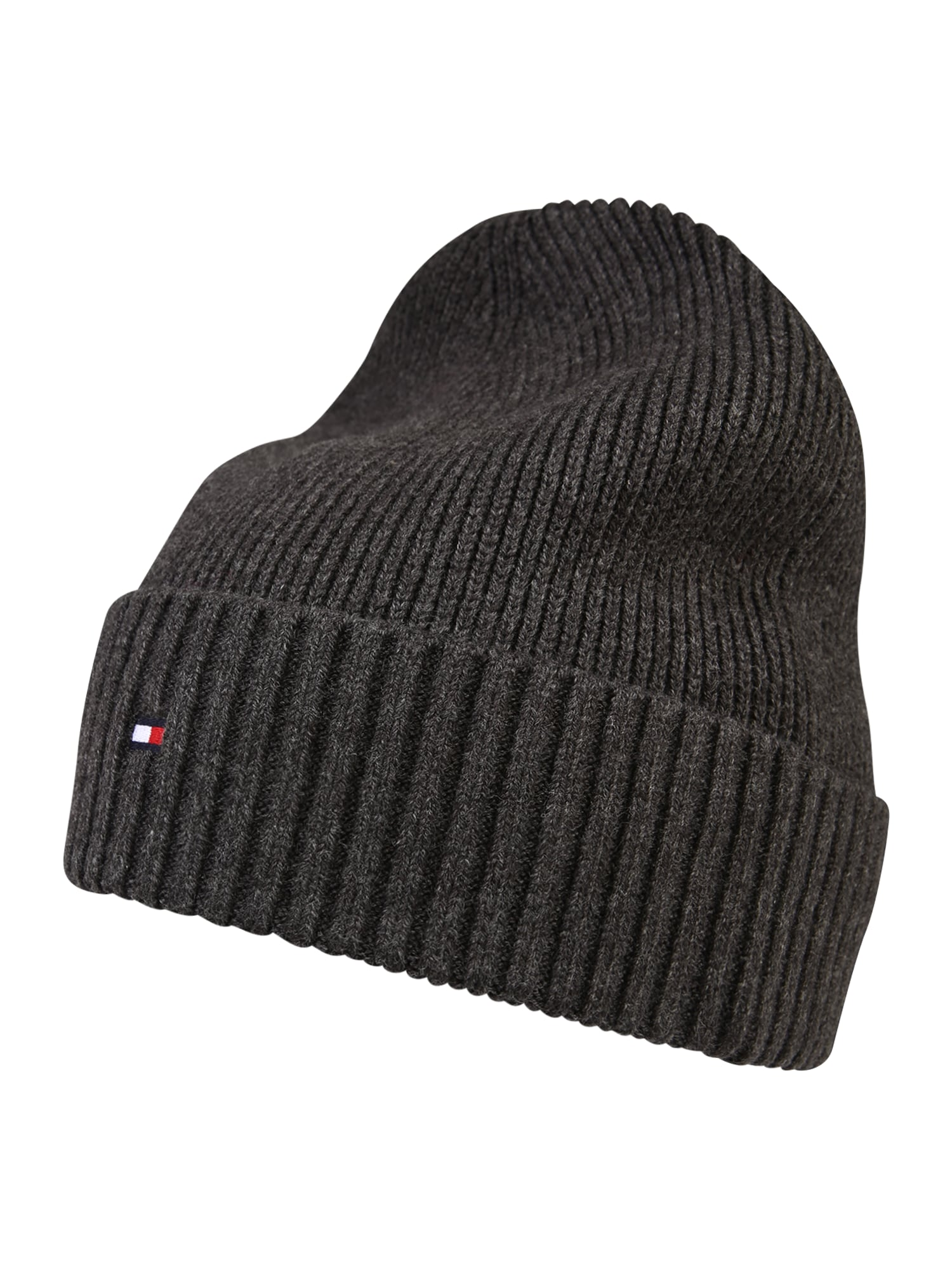 TOMMY HILFIGER Megzta kepurė pilka