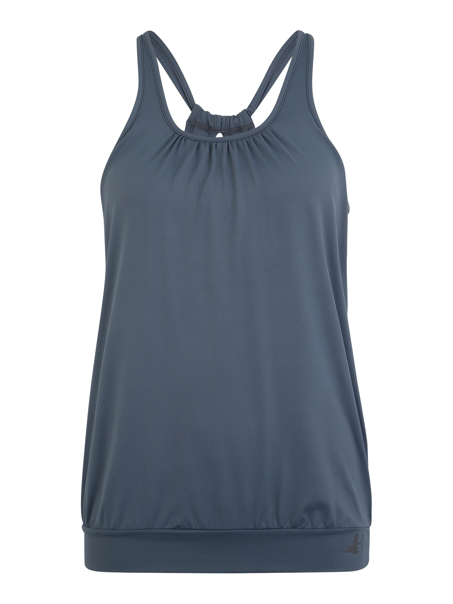 Sportovní top šedá CURARE Yogawear