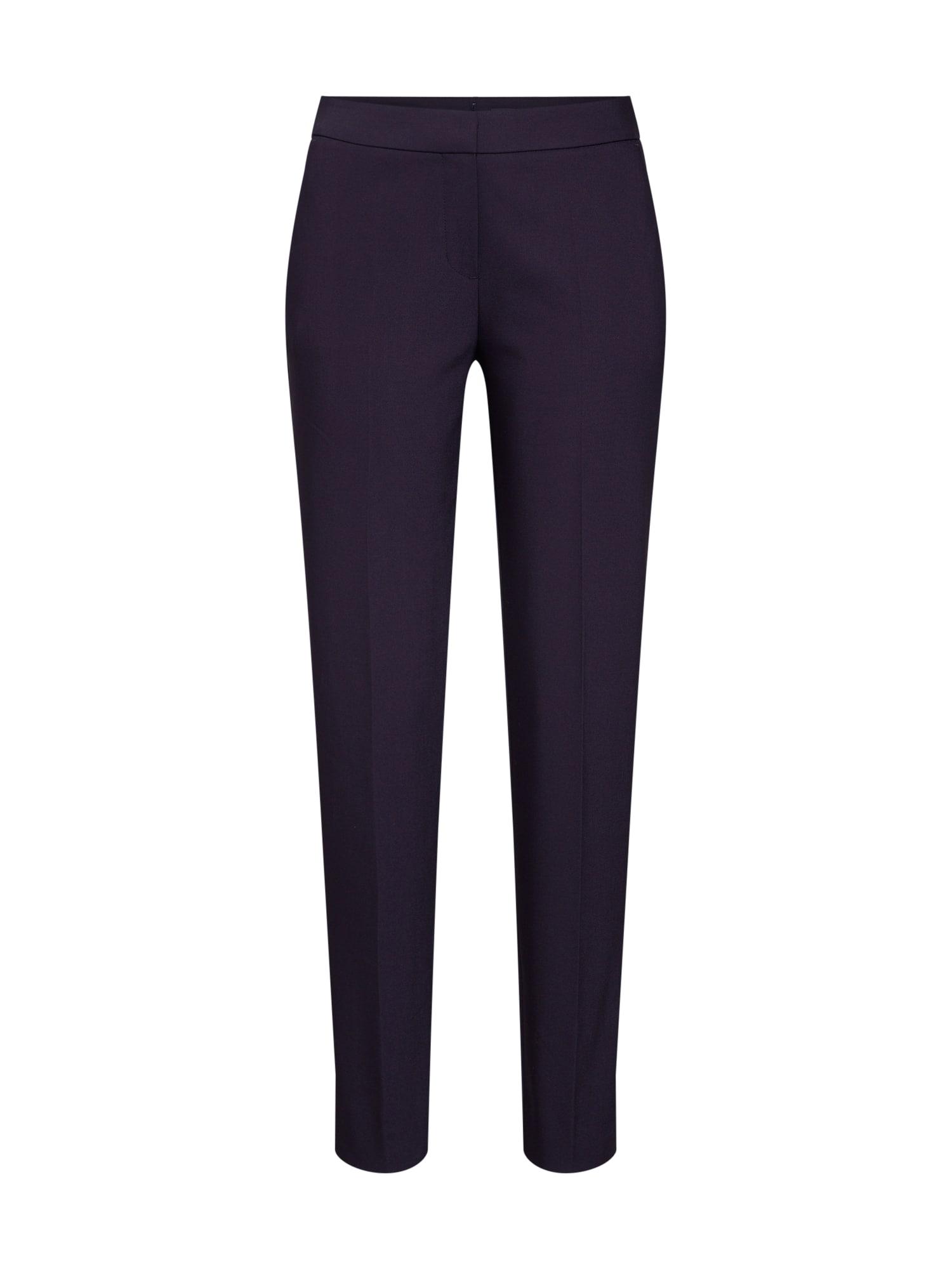 Kalhoty s puky marine modrá COMMA