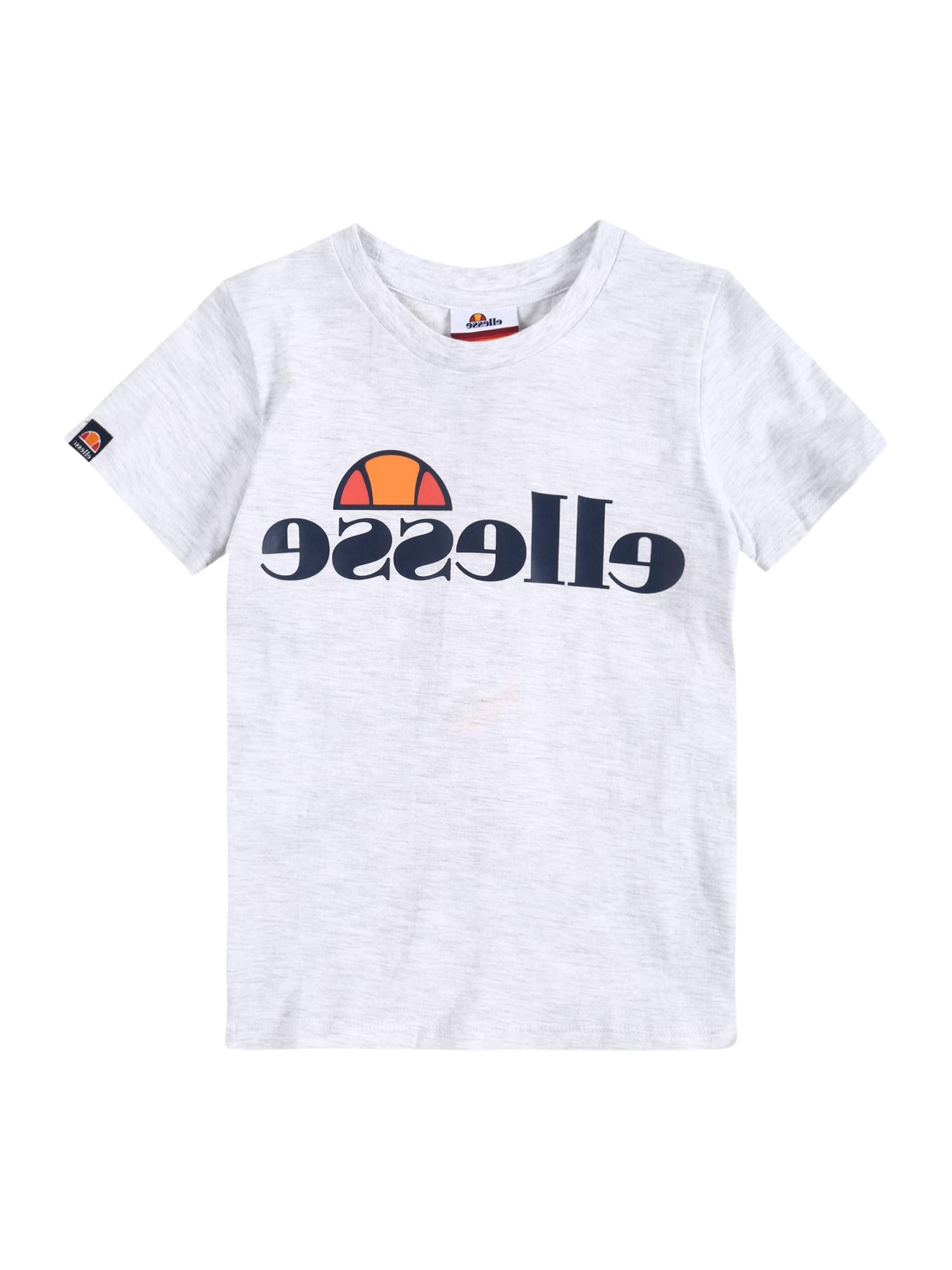 ELLESSE Marškinėliai 'Malia' balta / juoda / mišrios spalvos