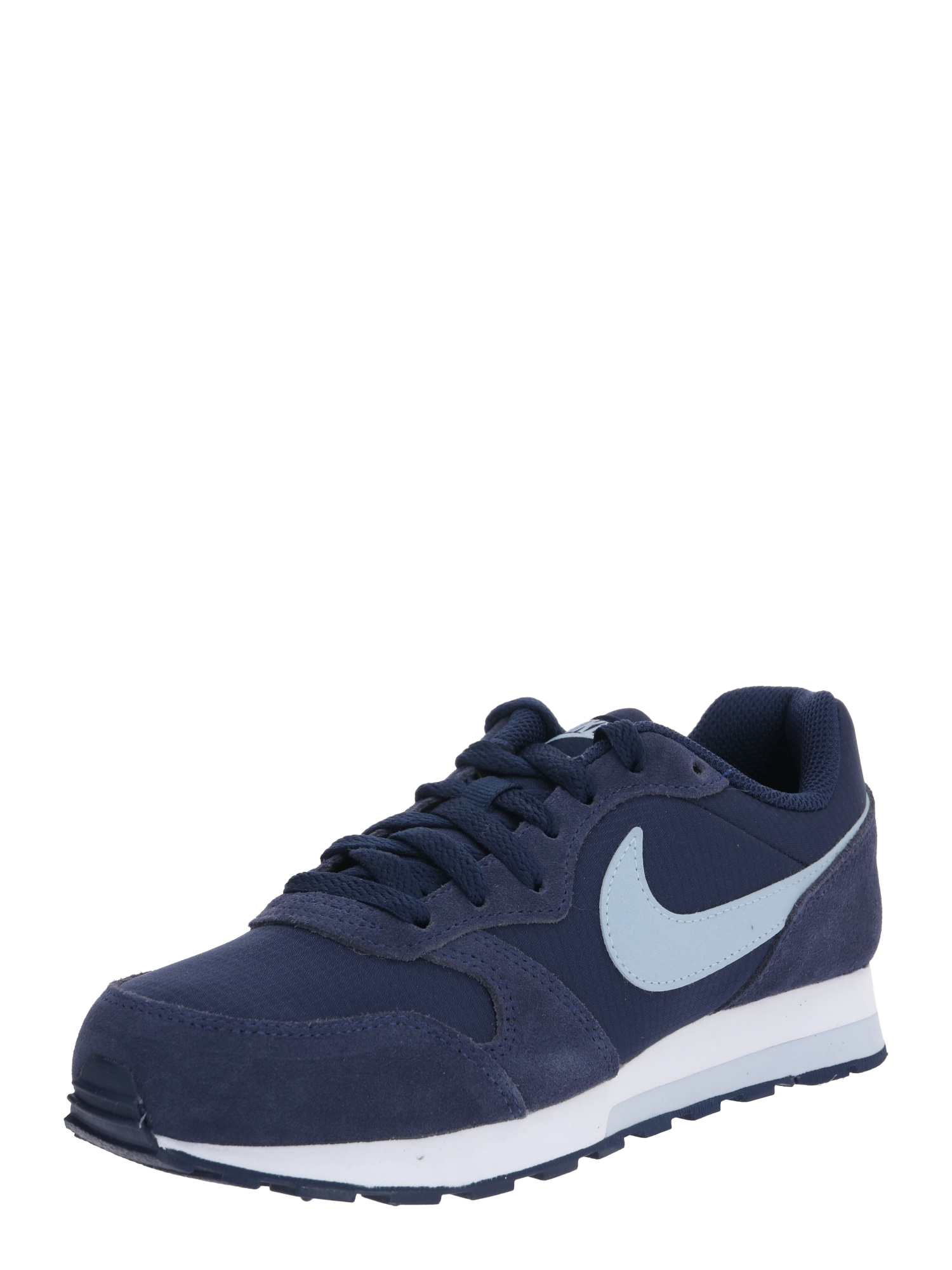 Nike Sportswear Sportbačiai 'MD Runner 2 PE (GS)' tamsiai mėlyna