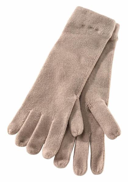 Handschuhe für Frauen - J. Jayz Strickhandschuhe hellbeige  - Onlineshop ABOUT YOU