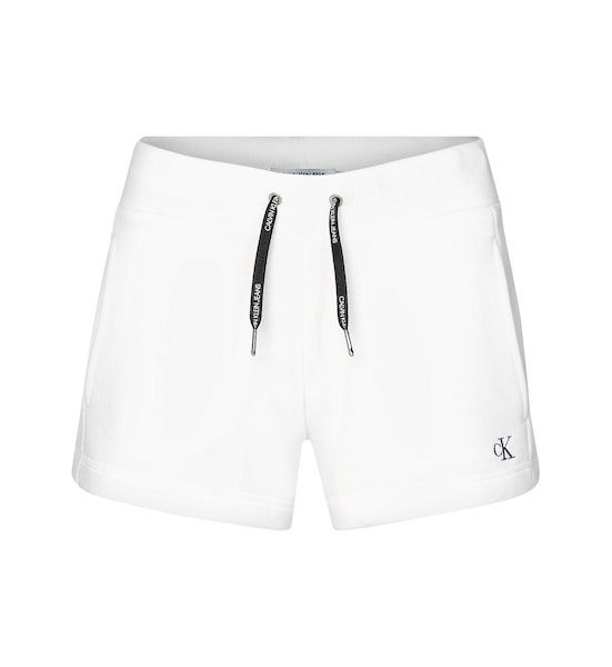 Hosen - Fleece Jogger Shorts › Calvin Klein Jeans › weiß  - Onlineshop ABOUT YOU