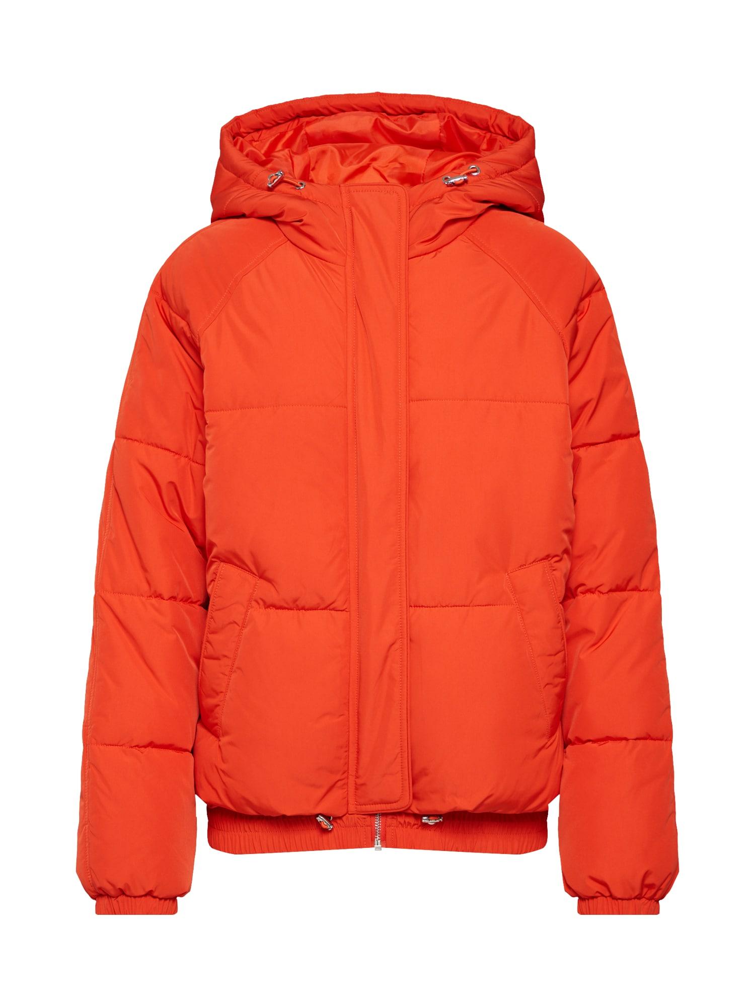 ABOUT YOU Žieminė striukė 'Claude' neoninė oranžinė