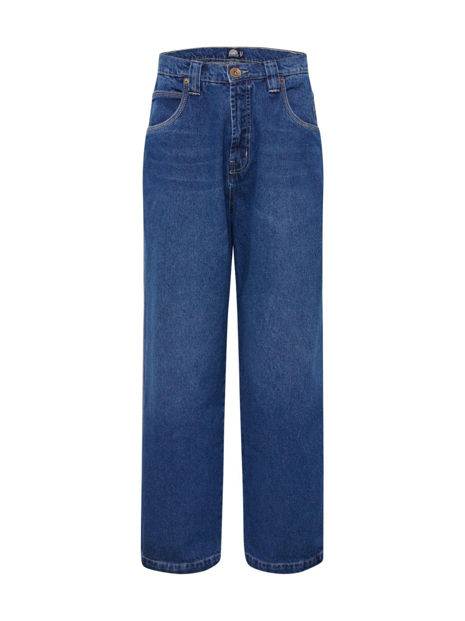 SOUTHPOLE Džinsai tamsiai (džinso) mėlyna
