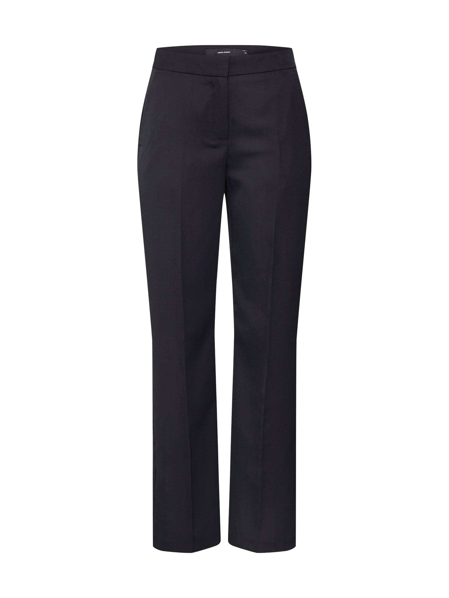 VERO MODA Plisované nohavice 'TASIA'  čierna