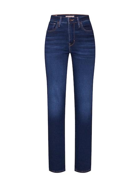 Hosen für Frauen - LEVI'S Jeans '724™ HIGH RISE STRAIGHT' blue denim  - Onlineshop ABOUT YOU