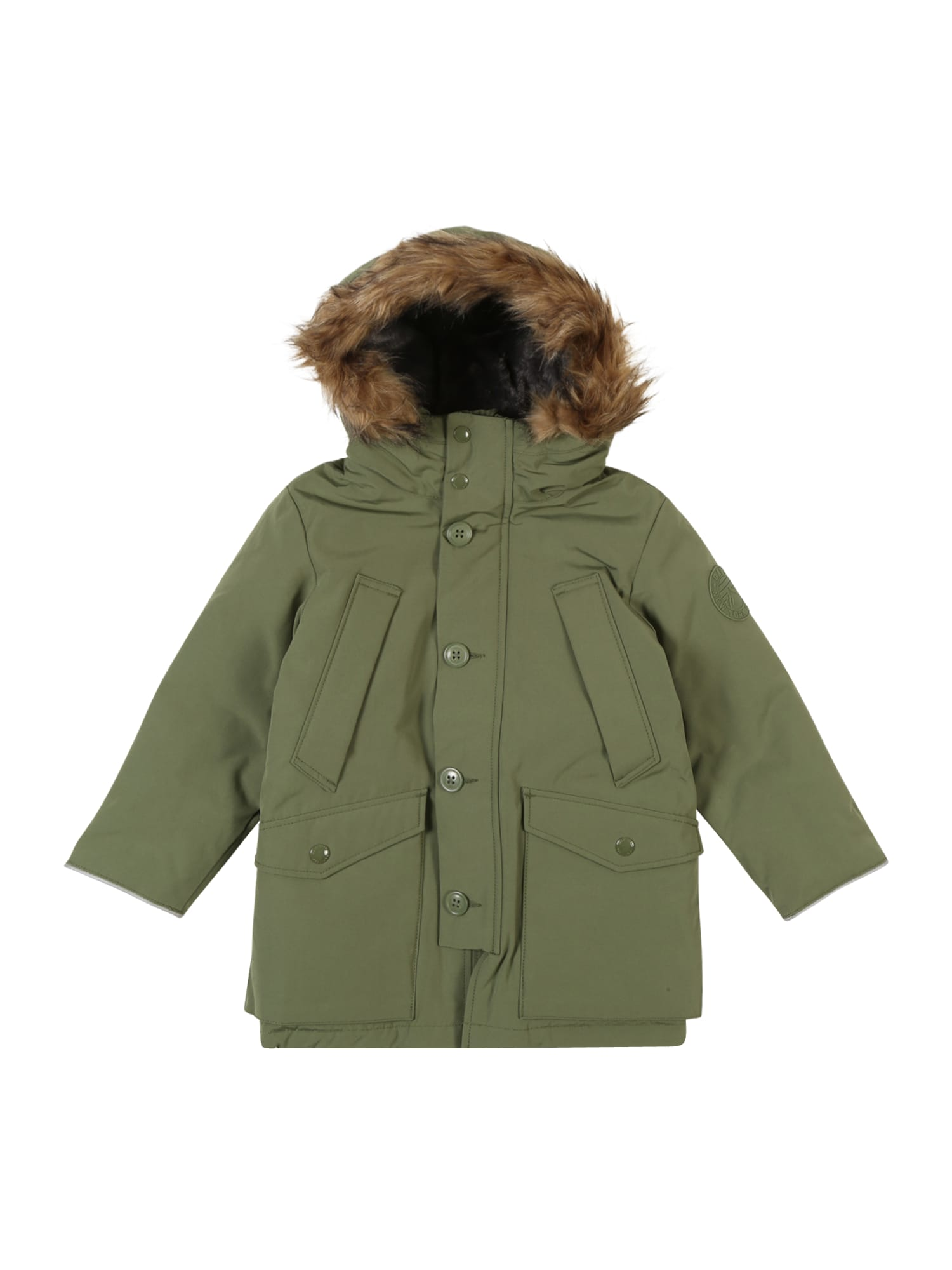 GAP Žieminė striukė 'WARMESTPARKA' žalia