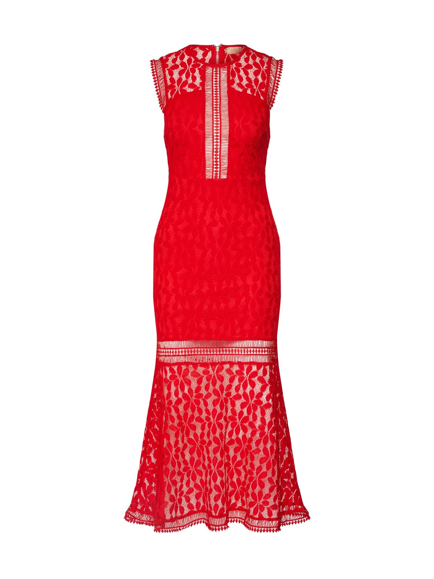 Love Triangle Vakarinė suknelė raudona