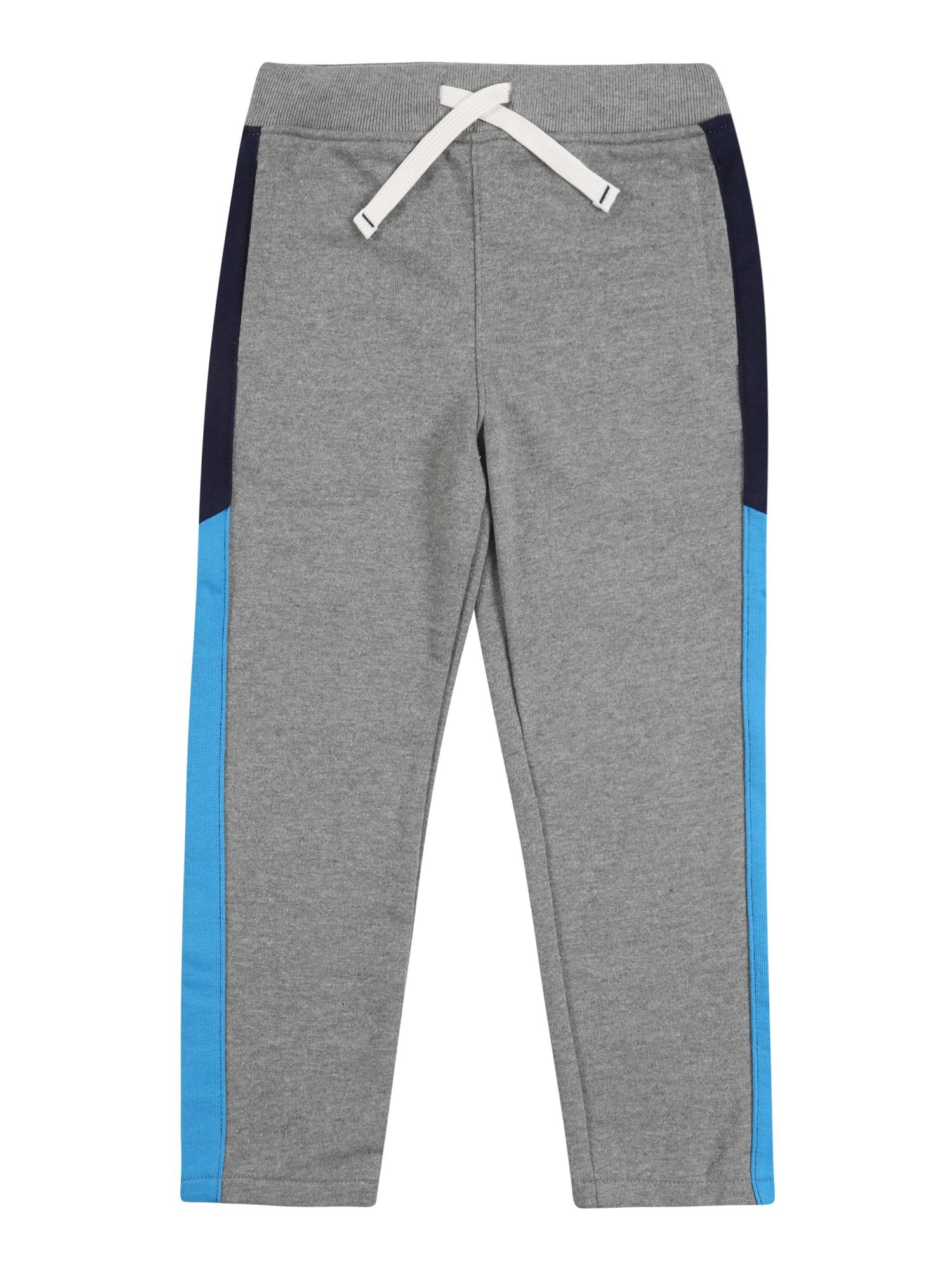 Carter's Kelnės 'dec big active S20 grey blue strp pant' mėlyna