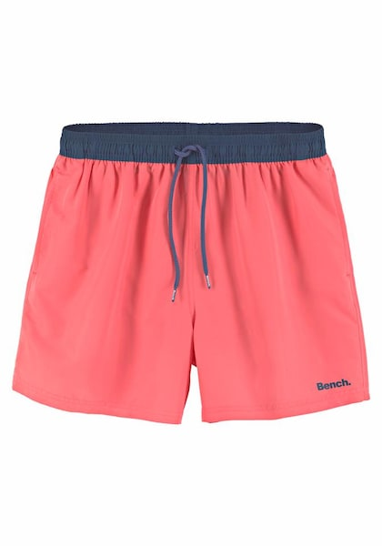 Bademode - Badeshorts › Bench › dunkelblau lachs  - Onlineshop ABOUT YOU