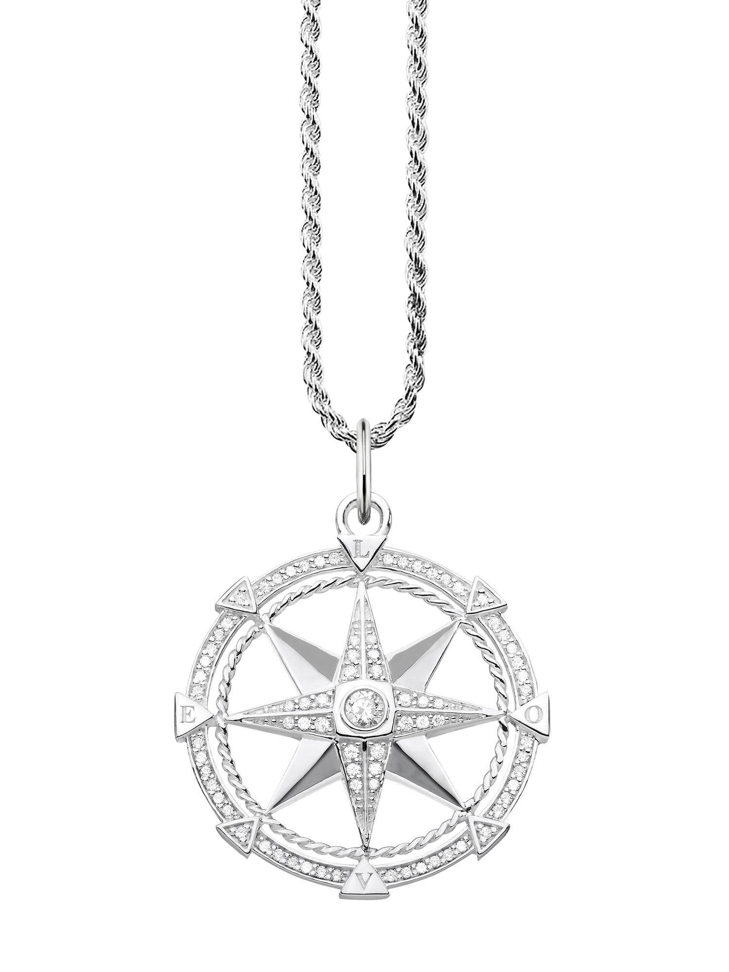 Řetízek Kompass stříbrná Thomas Sabo