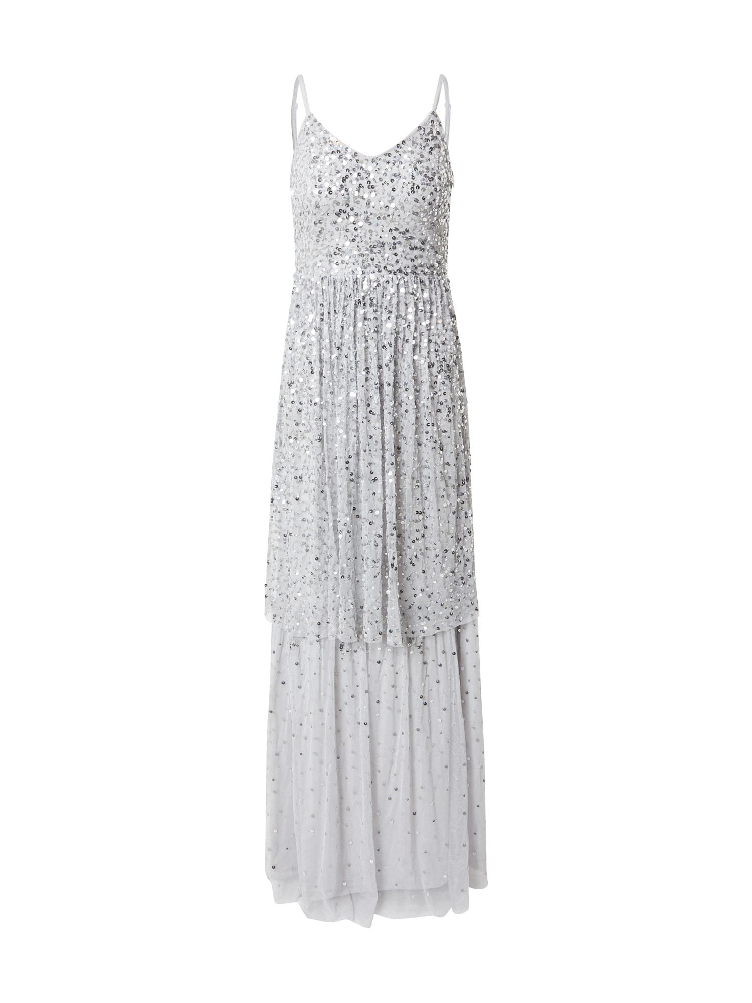 Frock and Frill Vakarinė suknelė šviesiai pilka