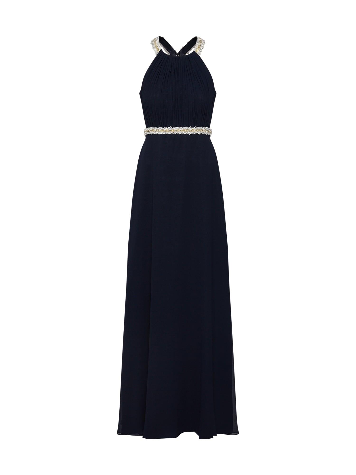 Vera Mont Vakarinė suknelė kremo / tamsiai mėlyna
