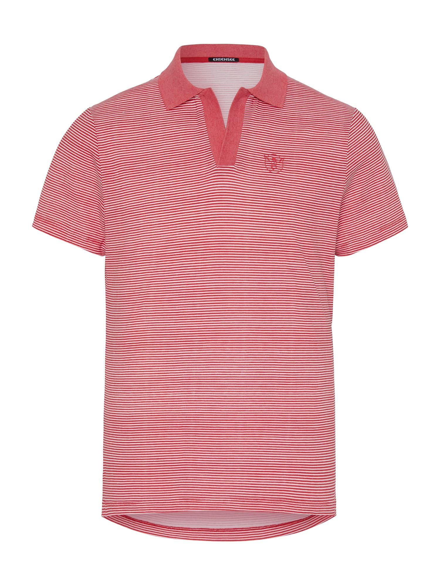 CHIEMSEE Sportiniai marškinėliai balta / raudona