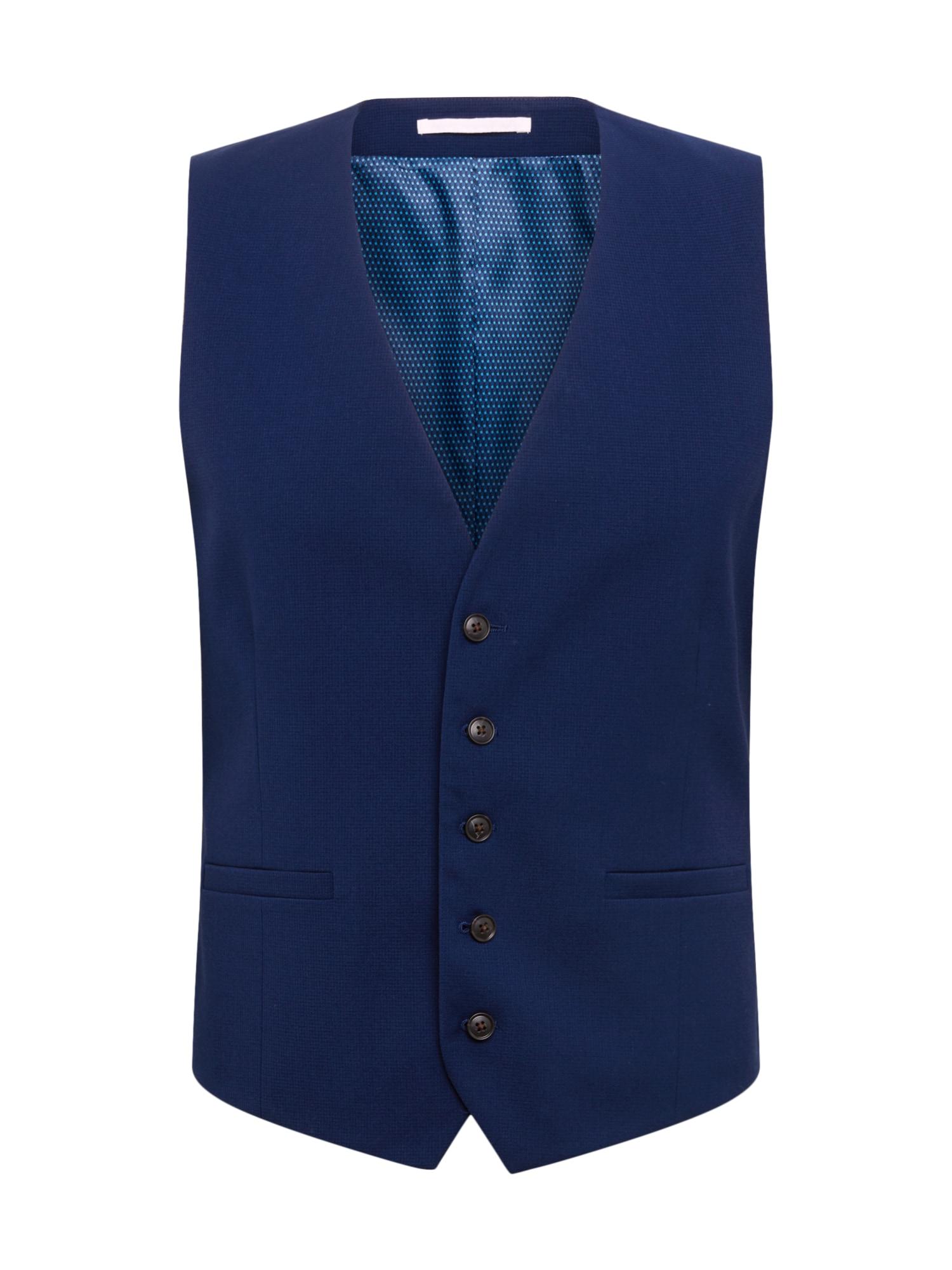 BURTON MENSWEAR LONDON Kostiuminė liemenė mėlyna