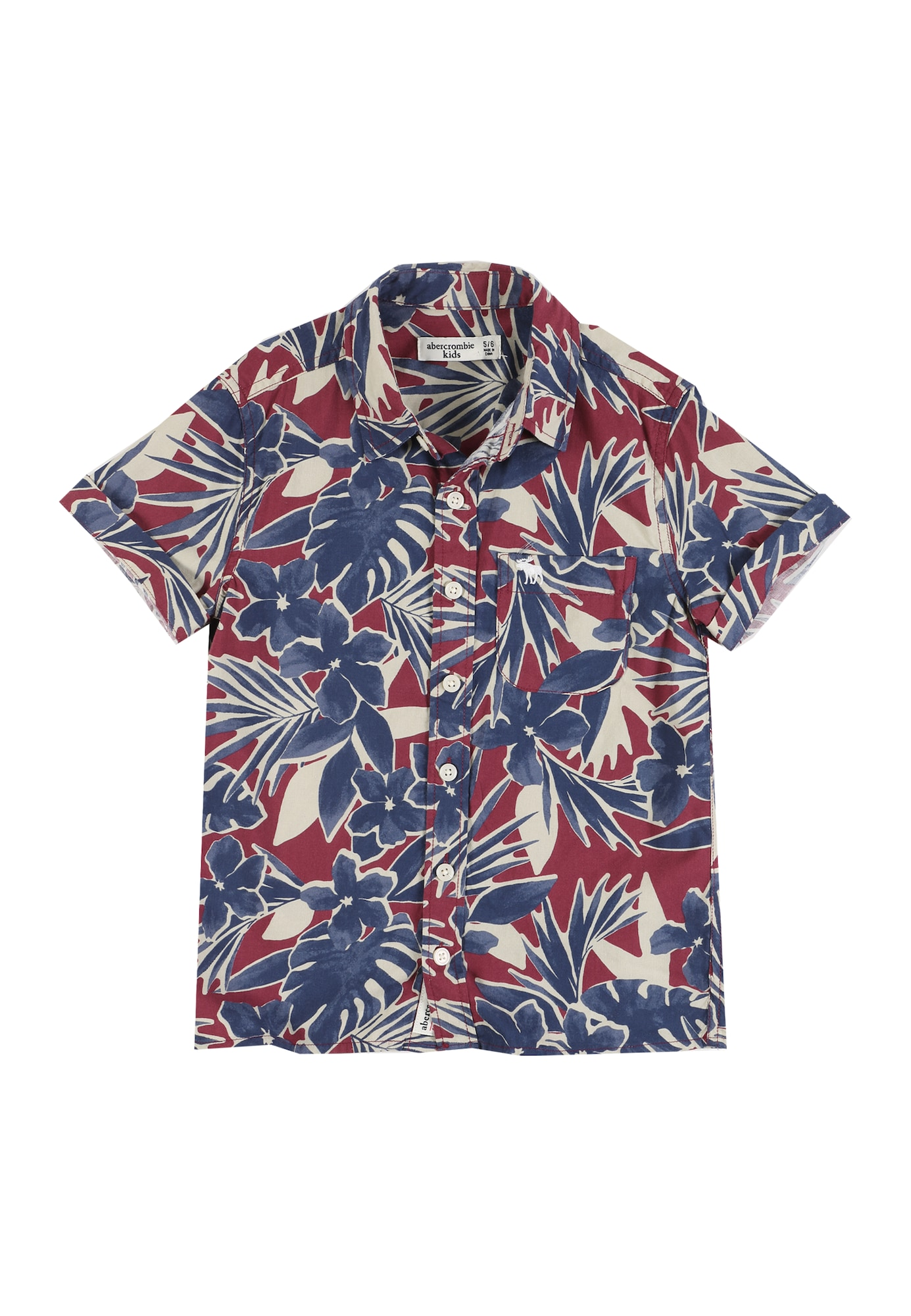 Abercrombie & Fitch Dalykiniai marškiniai mišrios spalvos