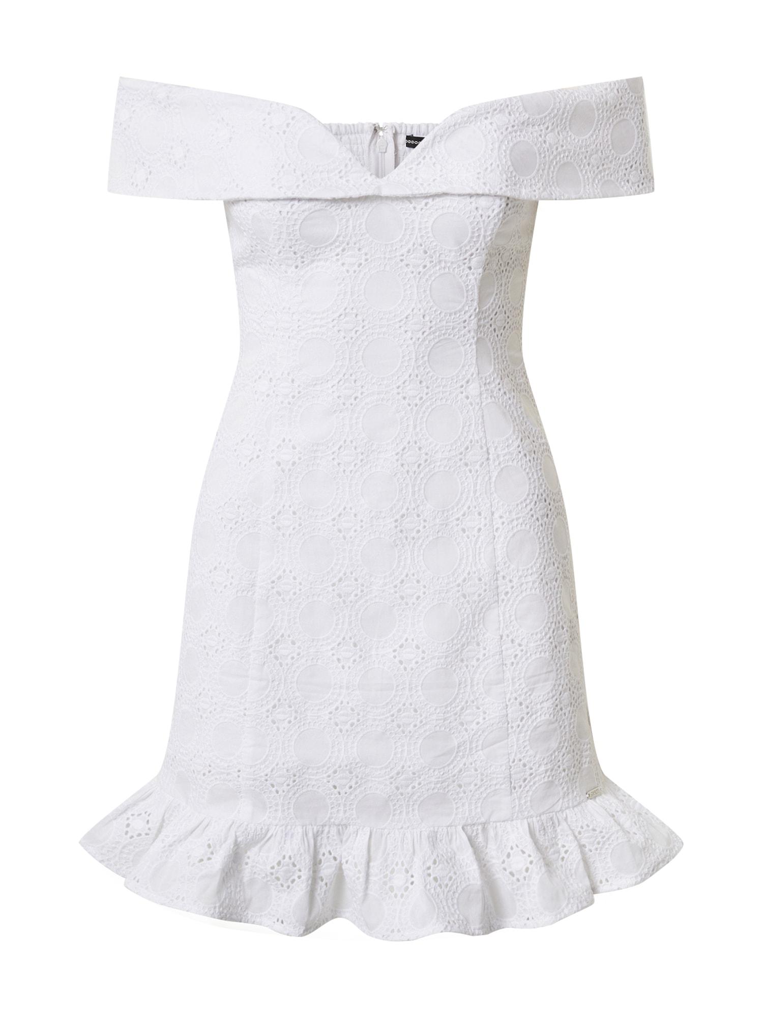 GUESS Šaty  biela