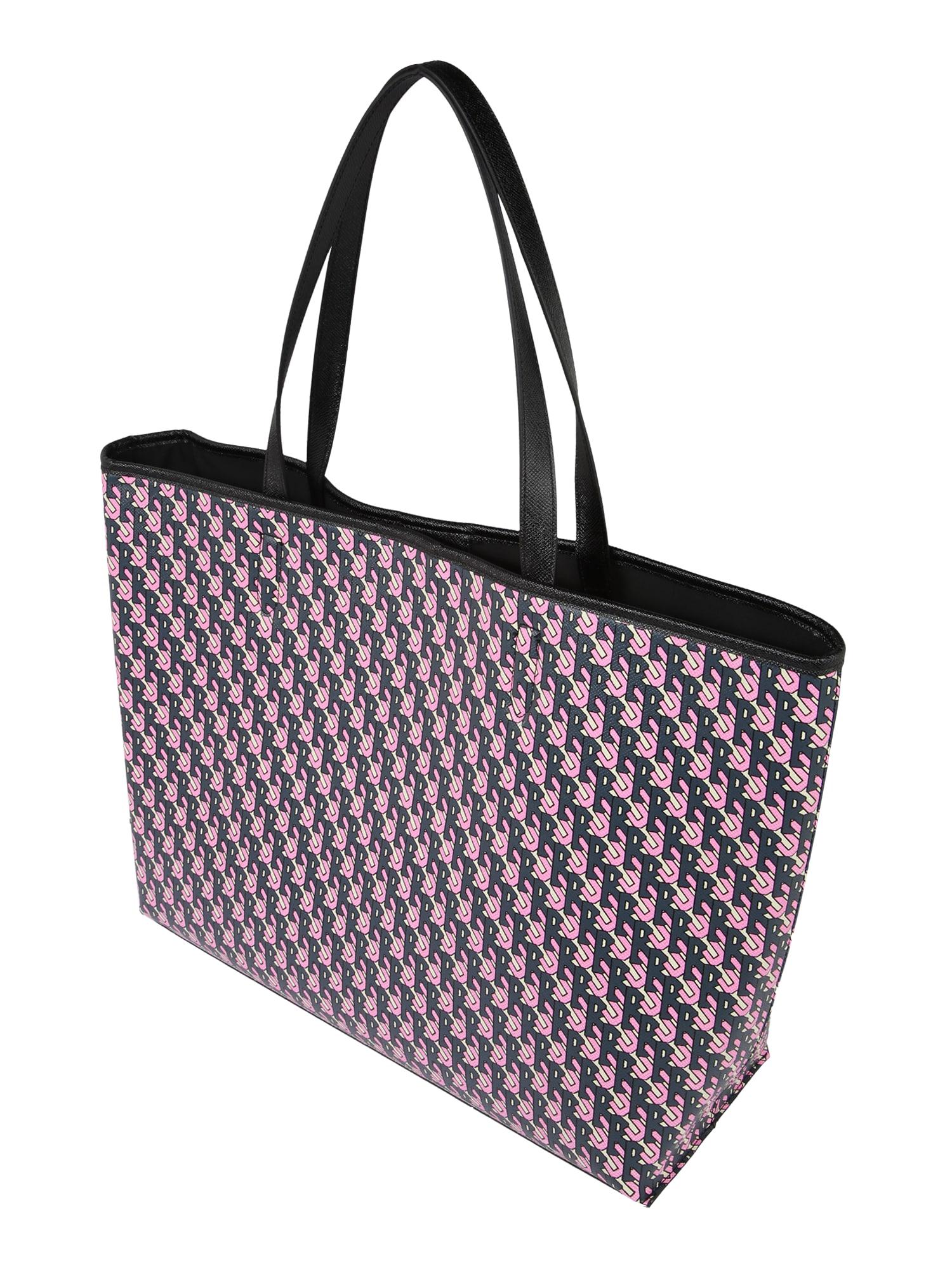 BeckSöndergaard Pirkinių krepšys 'Besra Lotta' juoda / rožinė