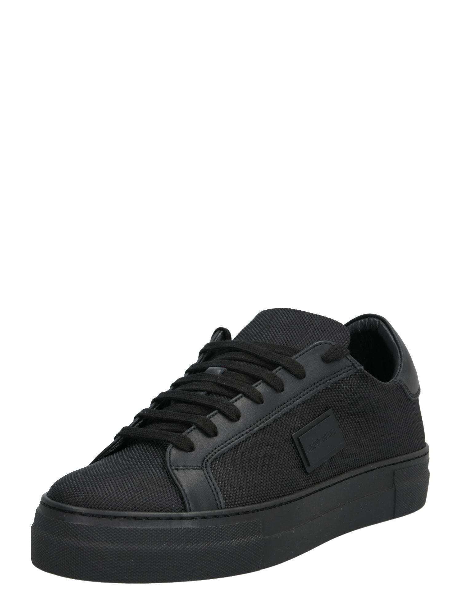 ANTONY MORATO Sneaker low 'Low Bold Metal'  negru