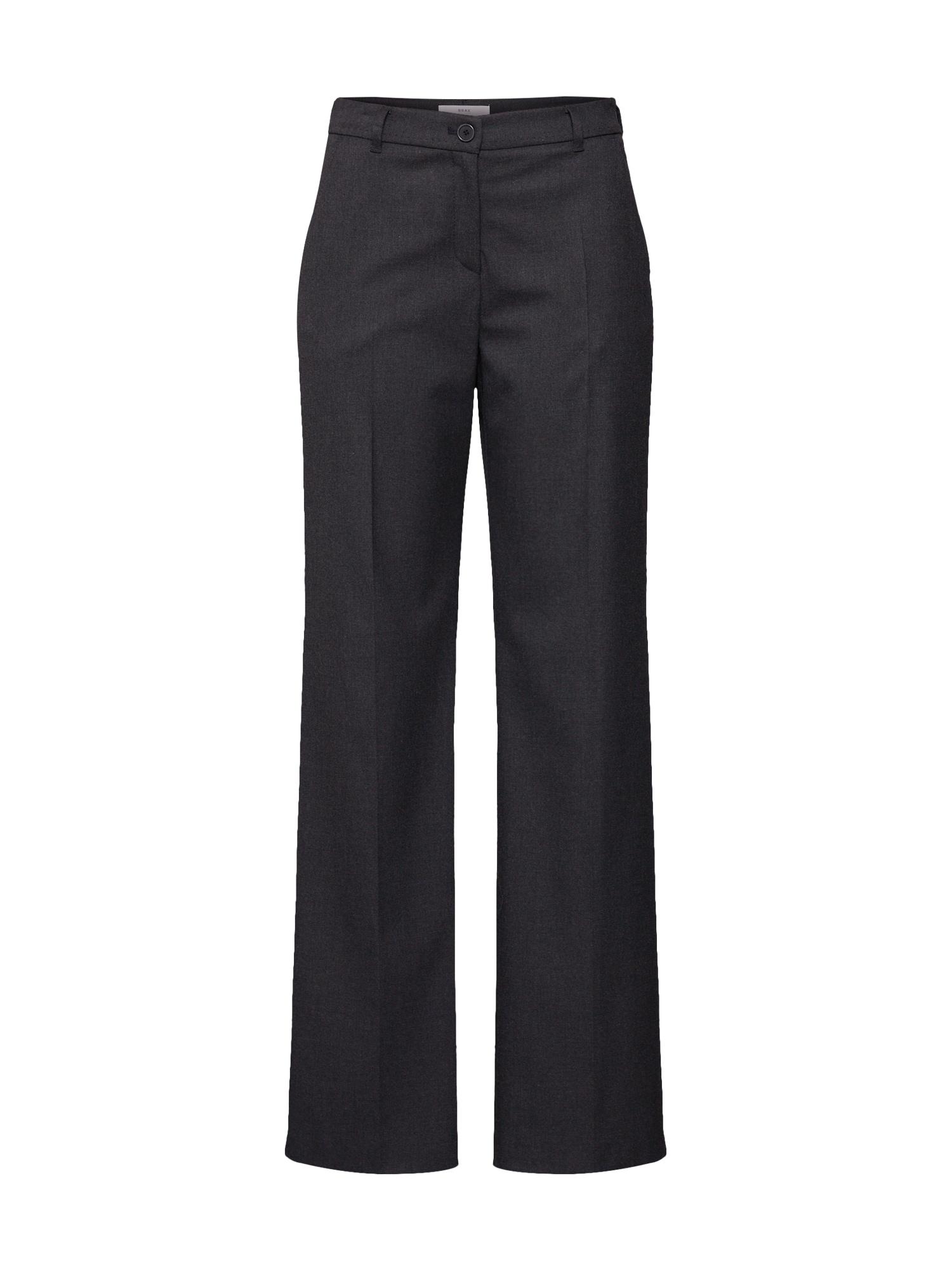 BRAX Kelnės su kantu 'MAINE' antracito