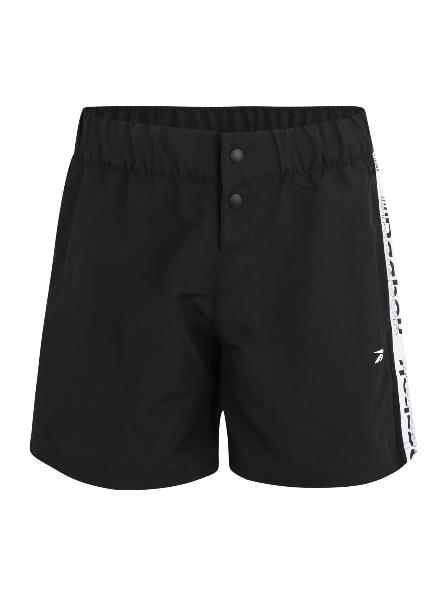 REEBOK Sportinės kelnės 'MY Woven' balta / juoda