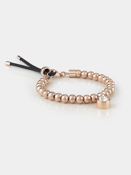 Armbaender für Frauen - GUESS Armband 'Be My Friend' rosegold schwarz  - Onlineshop ABOUT YOU
