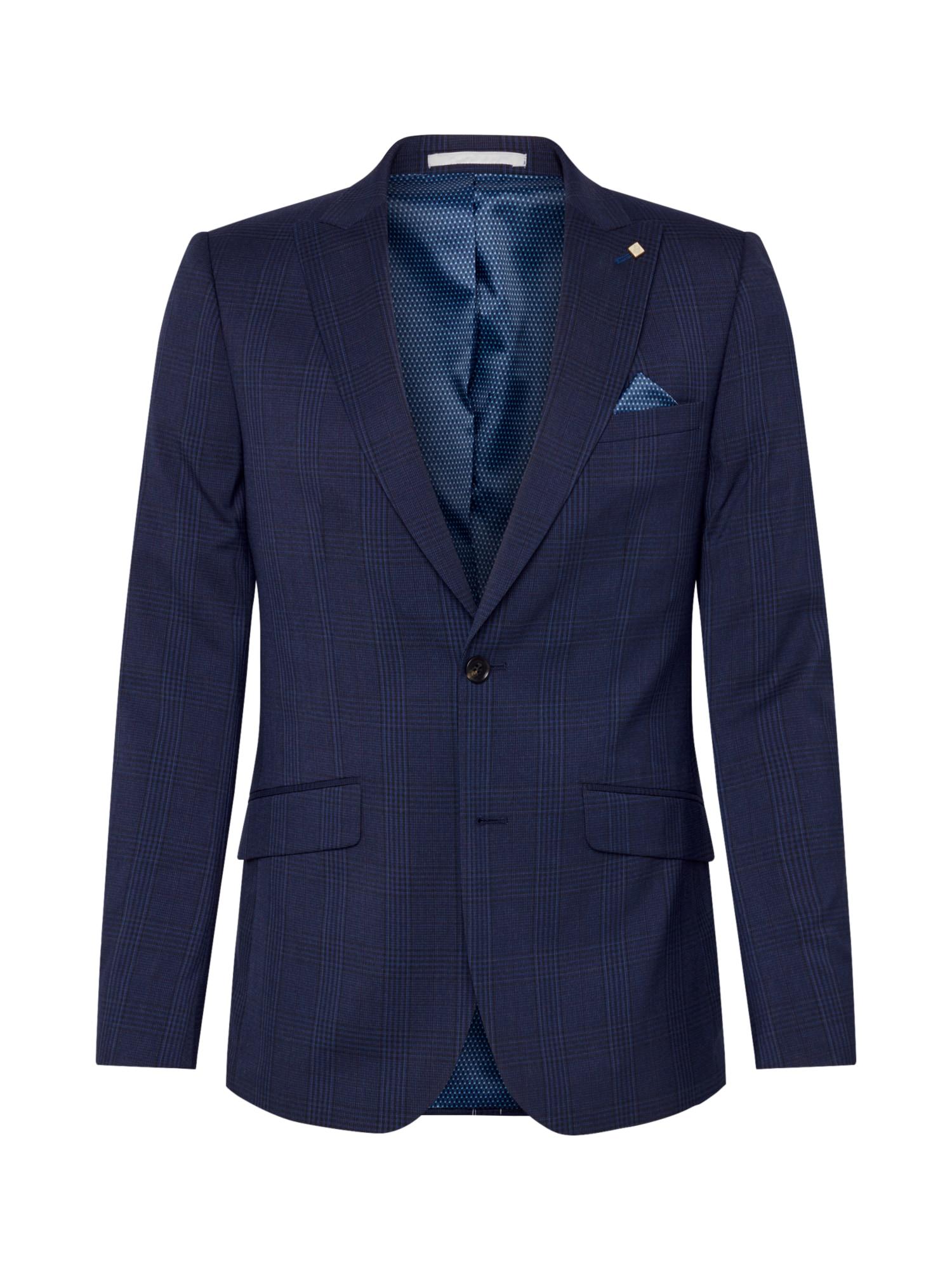 BURTON MENSWEAR LONDON Klasikinis švarkas tamsiai mėlyna