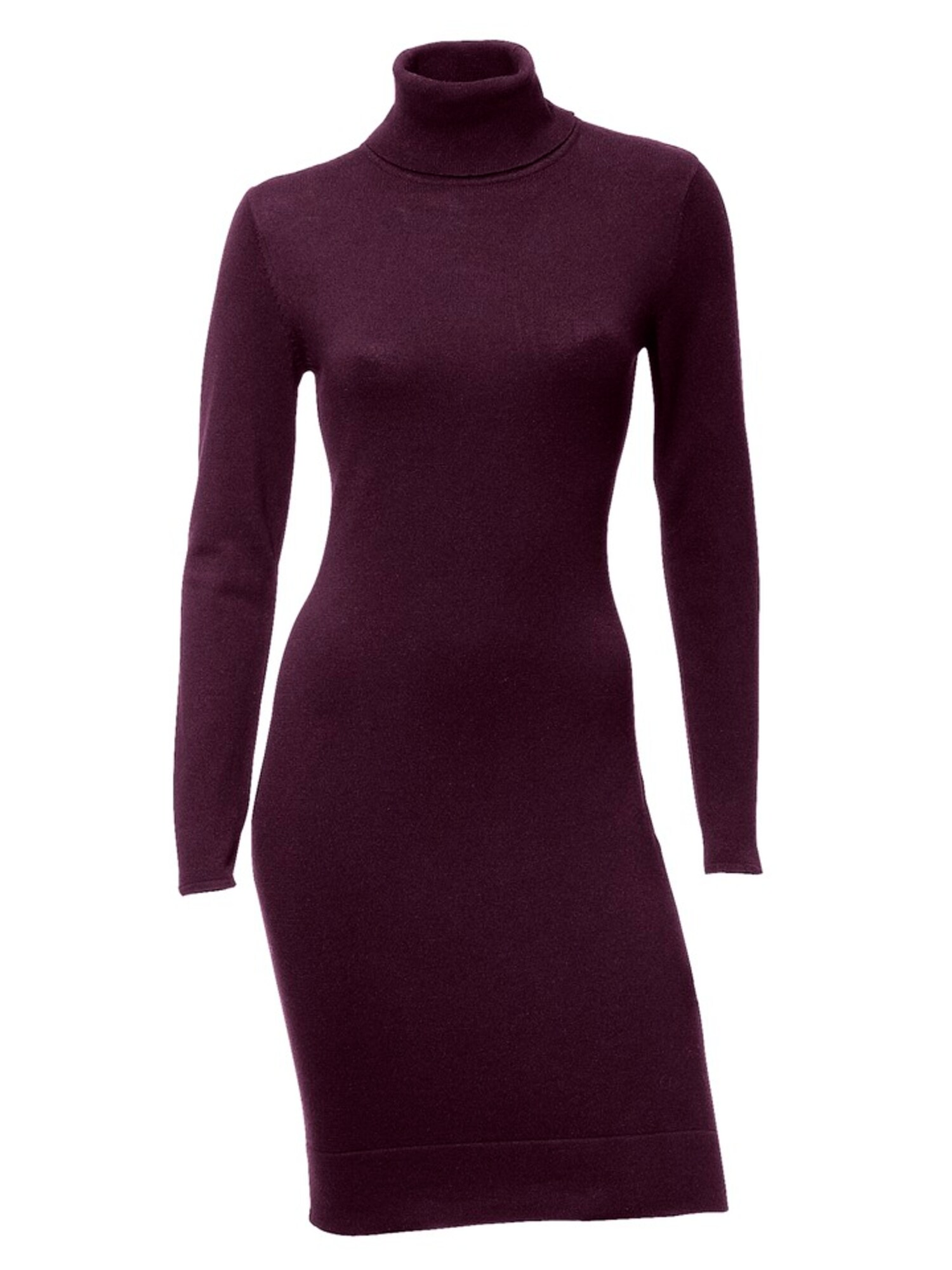 heine Megzta suknelė baklažano spalva
