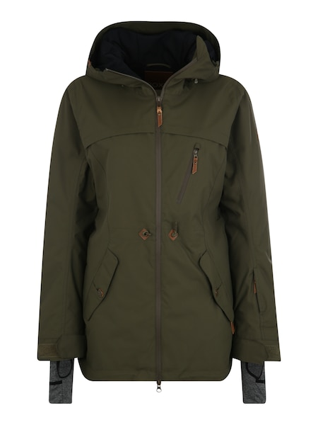 Jacken - Sport Jacke 'STATED' › Roxy › khaki  - Onlineshop ABOUT YOU