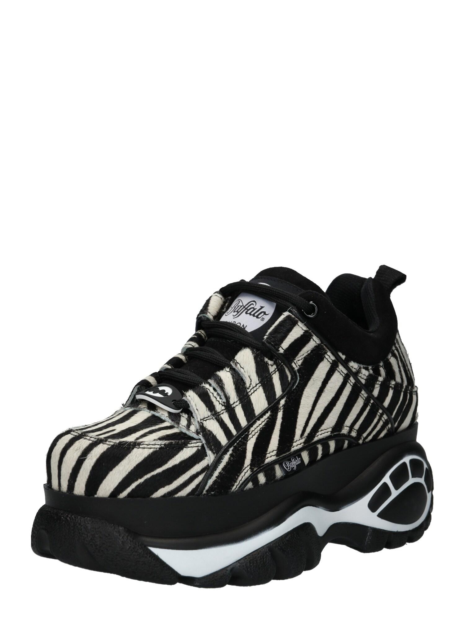 sports shoes 05fb2 0a85e AboutYou Damen Buffalo London Sneaker schwarz, weiß | 04061516099250