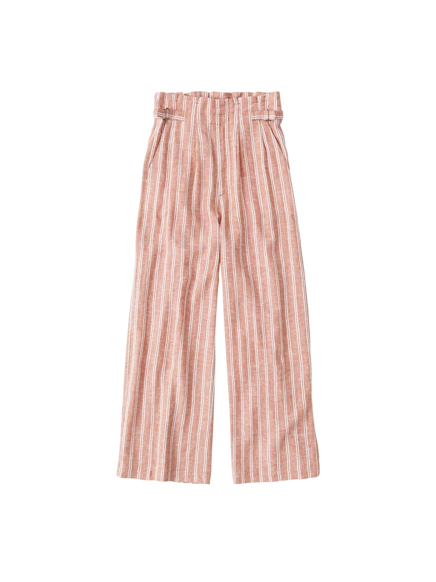 Abercrombie & Fitch Kelnės 'SATIN PANT' oranžinė