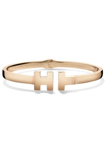 Armbaender für Frauen - TOMMY HILFIGER Armspange »Classic Signature, 2700855« gold  - Onlineshop ABOUT YOU