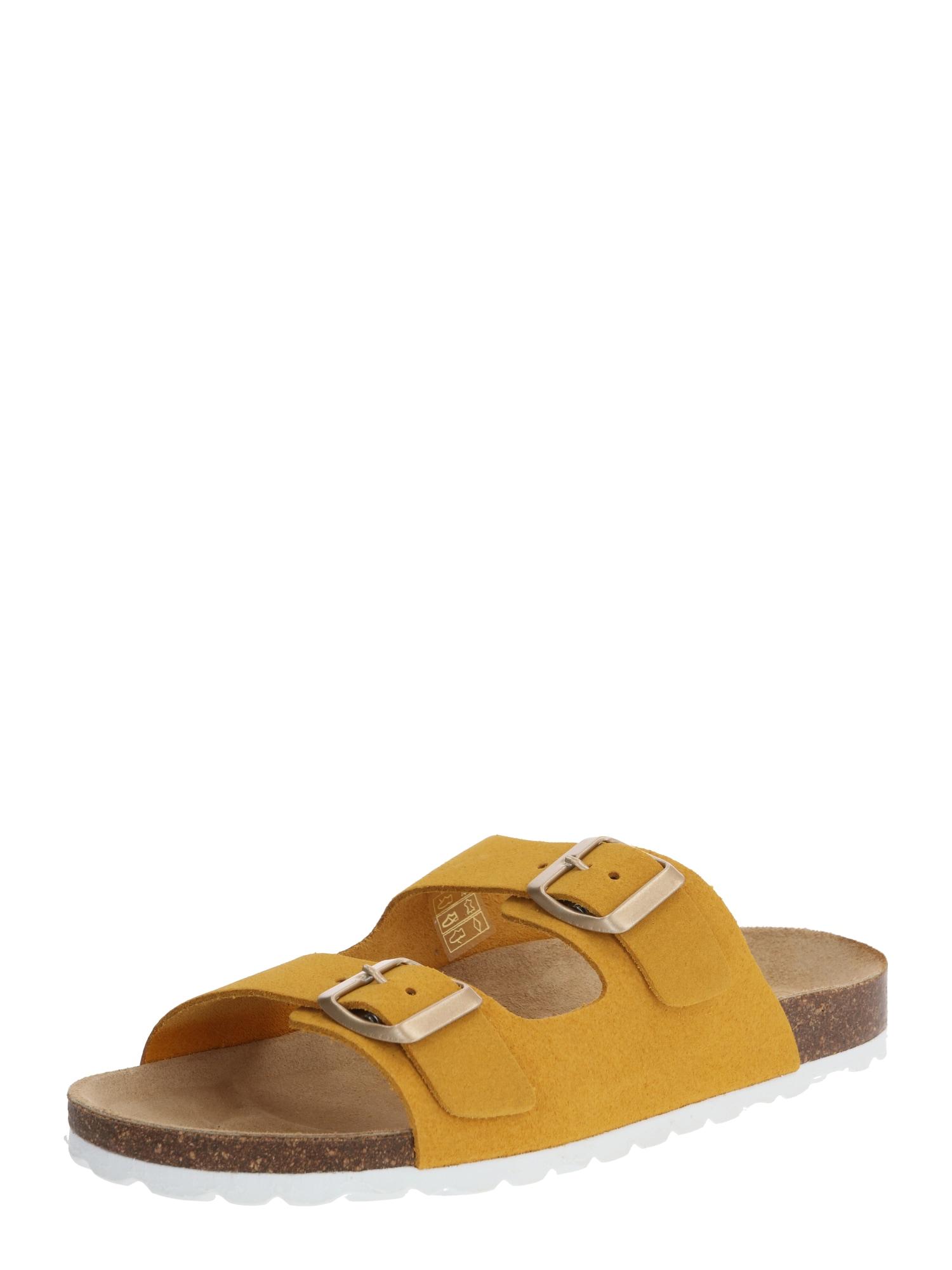 ONLY Saboți 'ONLMADISON'  galben