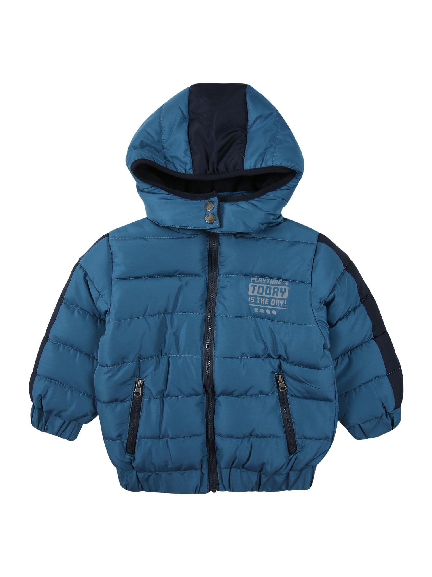 BLUE SEVEN Zimní bunda  námořnická modř / modrá