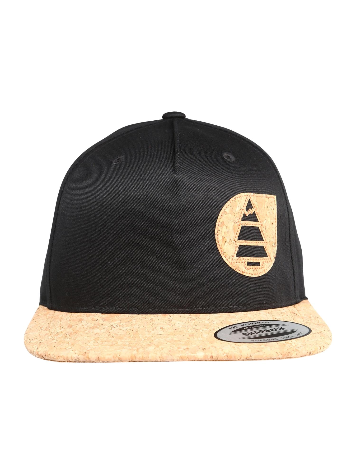 Picture Organic Clothing Sportinė kepurė 'NARROW CAP PK x3' ruda / juoda