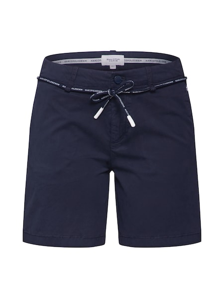 Hosen für Frauen - Marc O'Polo DENIM Shorts dunkelblau  - Onlineshop ABOUT YOU
