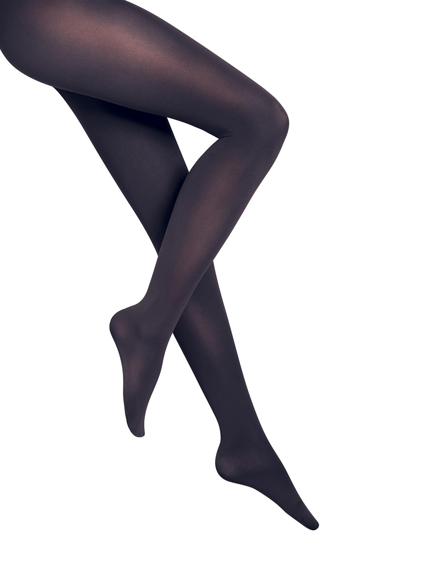 Wolford Permatomos pėdkelnės 'Velvet de Luxe 66 Comfort Tigh' tamsiai mėlyna