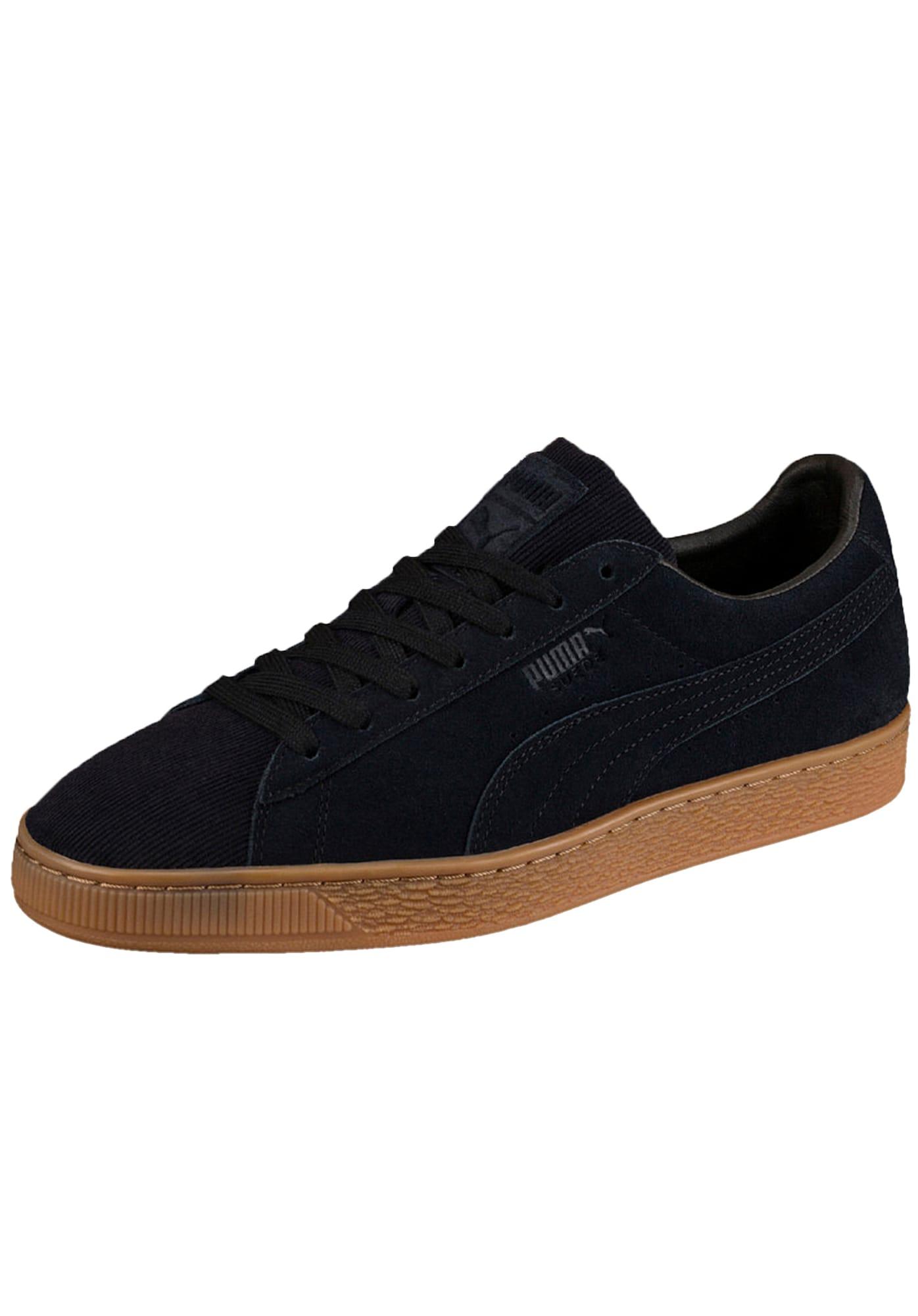 5336b2dd0d0 puma Puma Heren Sneakers Laag Suede Classic Pincord Zwart puma kopen in de  aanbieding