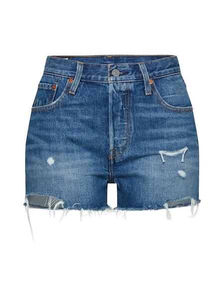 Hosen für Frauen - LEVI'S Shorts '501®' blue denim  - Onlineshop ABOUT YOU
