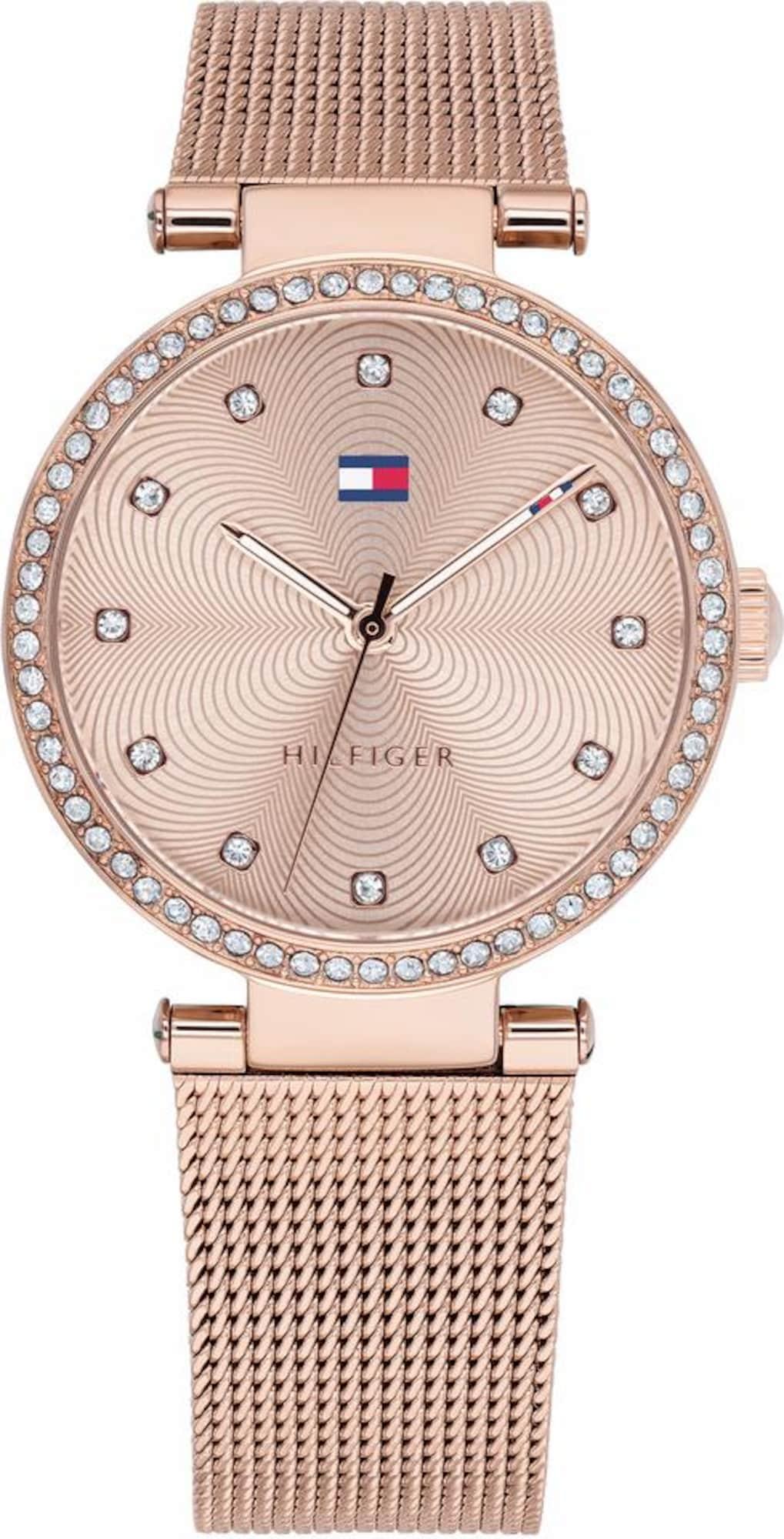 TOMMY HILFIGER Analoginis (įprasto dizaino) laikrodis rožinio aukso spalva