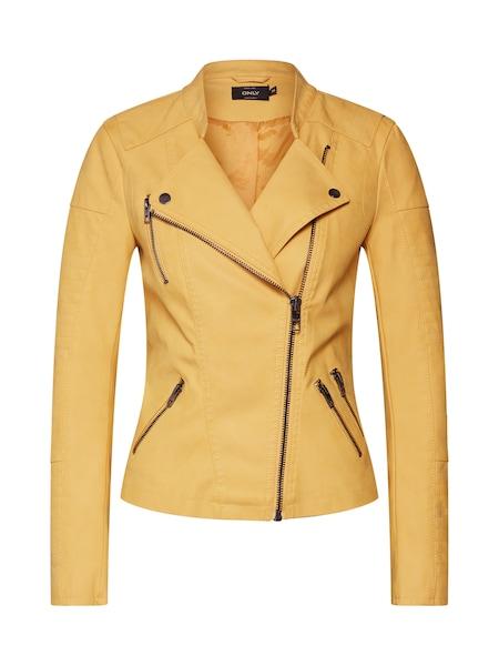 Jacken für Frauen - Kunstlederjacke › ONLY › gelb  - Onlineshop ABOUT YOU