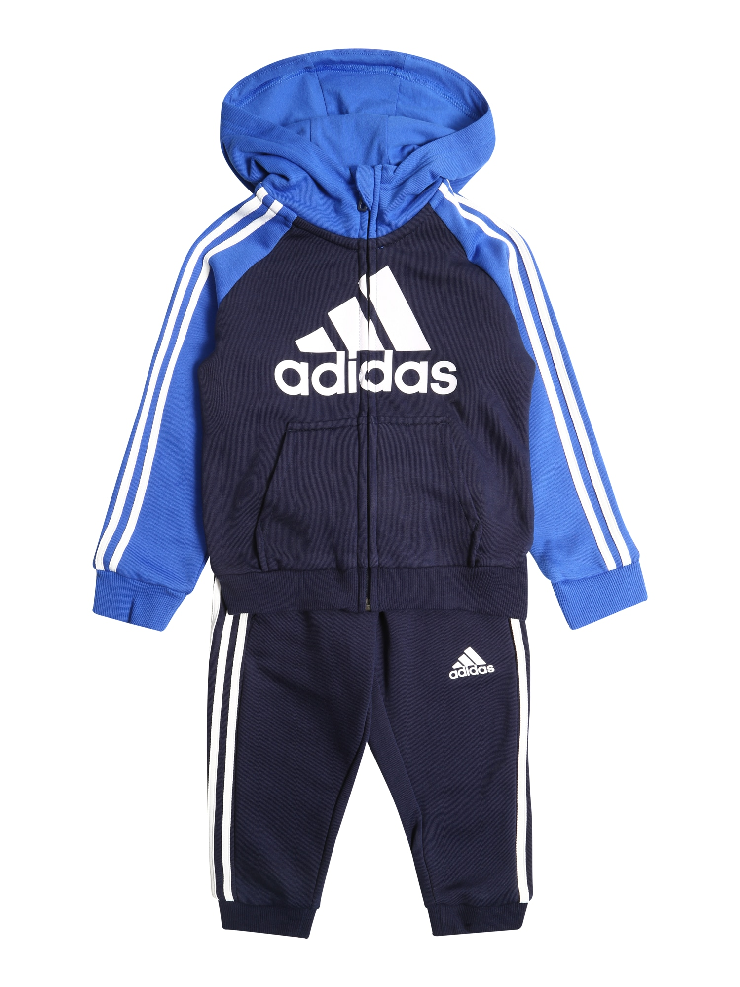 ADIDAS PERFORMANCE Treniruočių kostiumas mėlyna / tamsiai mėlyna