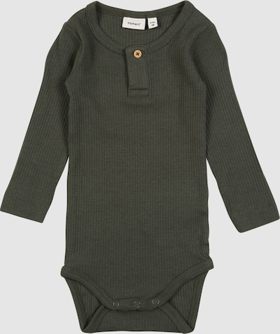 Name It Baby Kabille Gerippter Langarm-Body mit Knopfdetail