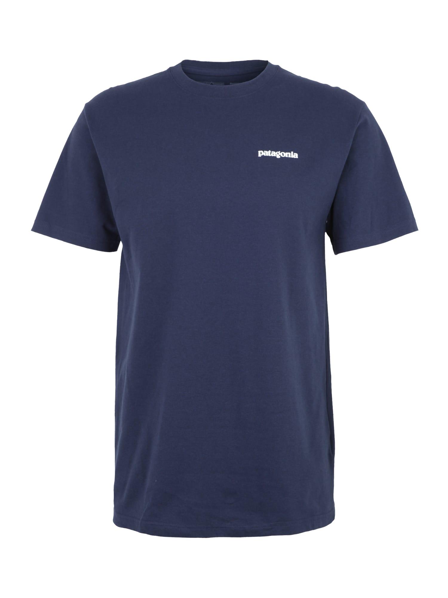 Funkční tričko námořnická modř PATAGONIA